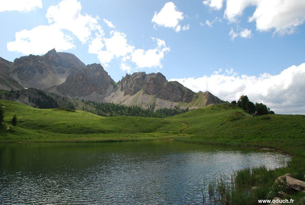 Randonn es et flore des alpes for Lac miroir queyras