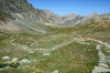 paysage hautes-alpes Voie-romaine-du-Vallon-de-Mary - Ubaye - Saint-Paul-sur-Ubaye - Voie-romaine-du-Vallon-de-Mary
